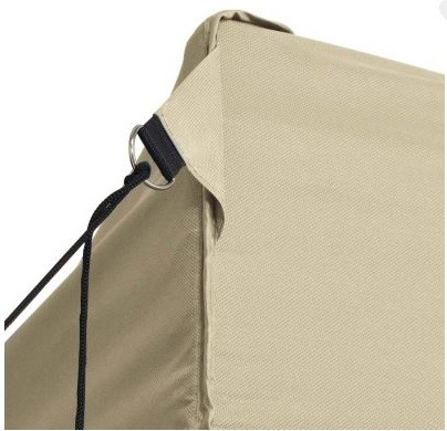 Carpa plegable 3x4.5 Metros con laterales. Superfuerte. Resistente al agua. Color Beig