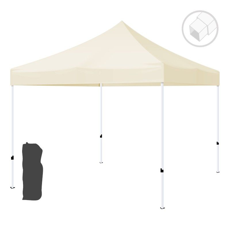 Carpa plegable profesional 2x2 de acero inoxidable e impermeable. Varios Colores