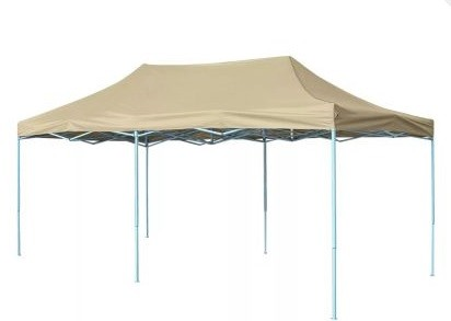 Carpa 3x6 Plegable sin laterales. Resistente al agua.Color Beig