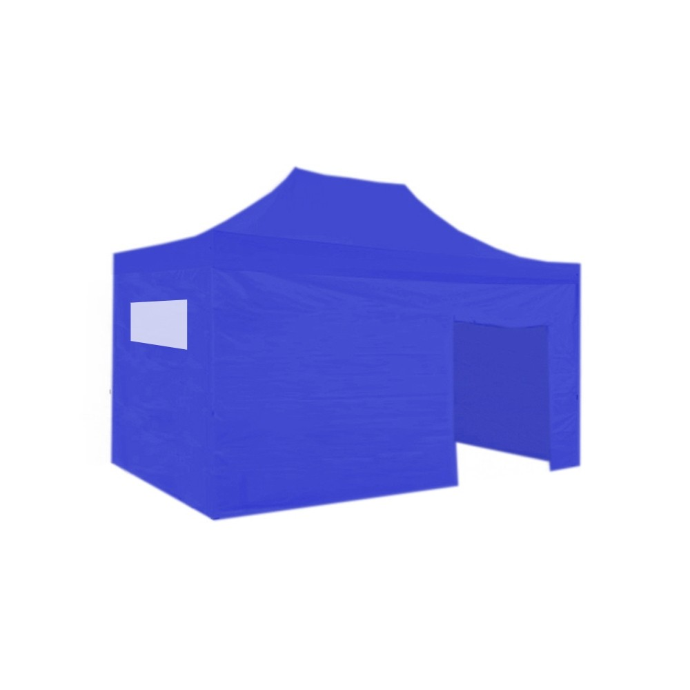 Carpa plegable 3x2 resistente al agua Eco. Color Azul